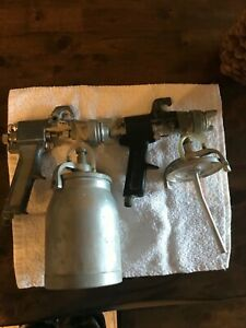 Vintage Paint Gun With Canister