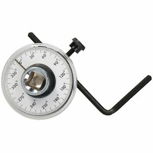 1 2 Drive Torque Angle Gauge For Torque Wrench Power Bars Cars Vans