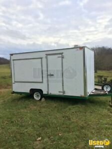 7 X 14 Food Concession Trailer For Sale In West Virginia