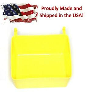 Small Plastic Yellow Pegboard Storage part Bins Multi pack Pricing Jsp Brand