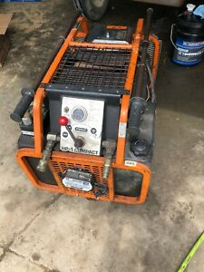 Stanley Mobile Hp 1 Hydraulic Power Unit Needs Work Gas Engine