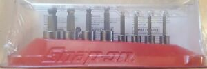 New Snap On 1 4 3 8 Drive Ball End Hex Socket Driver Set 208eftaby