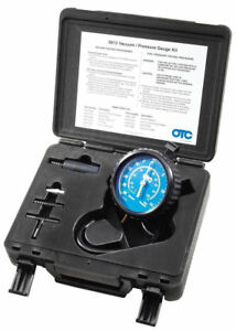 Otc Vacuum Pressure Gauge Tester Kit Test Fuel Pump Pcv Diagnose Engine Leaks