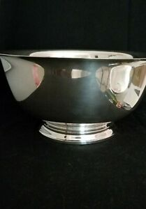 Vtg Gorham 10 Sterling Silver 41661 P Revere Reproduction Bowl 32 52ozt 1957