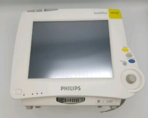 Philips Intellivue Mp30 Touch Screen Patient Monitor M8002a With Batteries