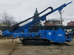 Hutte 605 Foundation Drill Rig In Nyc