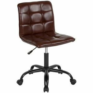 Flash Furniture Sorrento Mid Back Leather Tufted Swivel Office Chair