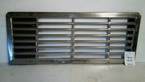 1981 98 International Newport Co 9670 Series Front Upper Grille Semi 163769
