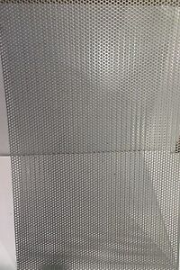 20 Ga 304 Stainless Steel Perforated Sheet 1 8 holes 12 X 23