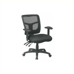 Scranton Co Back Mid Back Managers Office Chair In Coal