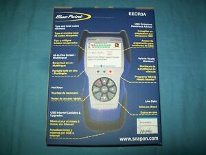 New Blue Point Eecr3a Carscan Code Reader Abs Srs Diagnose Check Engine Lights