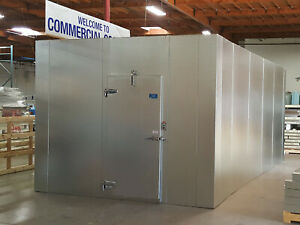 New 10 X 10 X 8 Walk in Cooler Made W 100 Us Made Materials only 4 181