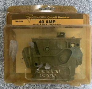 Wadsworth 40a 2p Circuit Breaker Vpkwa240 Wa 240 Connecticut Electric Double