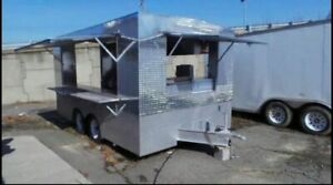 8 X 14 Food Concession Trailer Kitchen Trailer For Sale In Virginia
