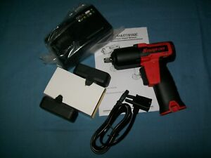 New Snap on Lithium Ion Ct761ak2 14 4v 14 4volt 3 8 Dr Cordless Impact Wrench