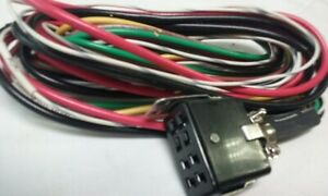 Vintage Pa200 Siren Power Cable Wiring