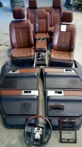 2009 10 11 12 13 14 Expediton Navigator King Ranch Seats Leather Interior Swap