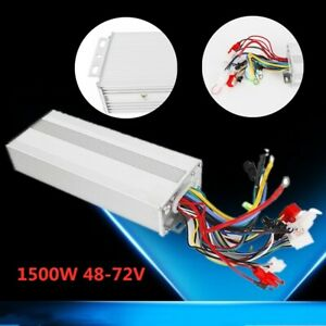 48v 1500w Electric Bicycle E bike Scooter Brushless Dc Motor Speed Controller