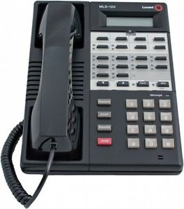 Avaya Lucent Partner Mls 12d Black Telephone Refurb Warranty