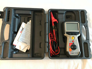 Megger Mit400 Mehgommeter Insulation Resistance Tester With Case And Leads Nice