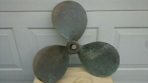 Vintage Perry Columbian B S Bronze Propeller Yacht 23 X 18 11752 1 1 2 Tapered