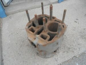 Used John Deere Cylinder Block H Farm Tractor Part