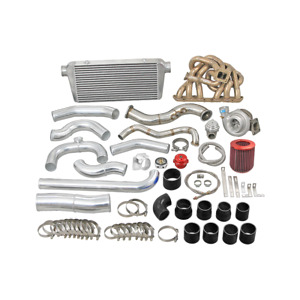 Cxracing Turbo Intercooler Kit For 93 02 Toyota Supra Mk4 2jzge Na t 2jz ge