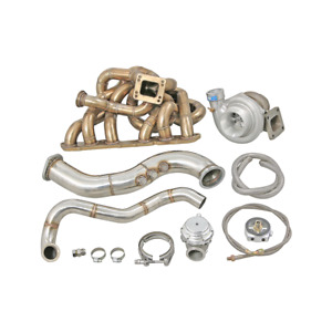 Cxracing Turbo Manifold Kit For 93 02 Toyota Supra Mk4 2jzge 2jz ge