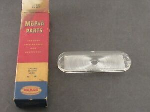 1958 Plymouth Back Up Light Light Lens New Old Stock Mopar