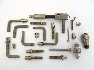 Mixed Used Lot Of Metal Pho dits Bros Hit Miss Engine Valve Stems Parts