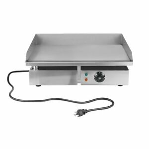Commercial Electric Grill 1500w Electric Food Oven Restaurant Bbq Grill Ws