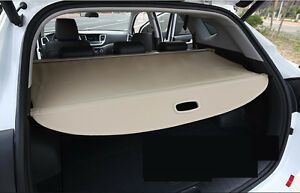 Rear Trunk Shade Cargo Cover For 2016 17 Hyundai Tucson Beige Cargo Nets Liners