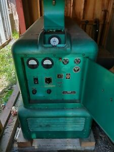 1955 Electric Onan 12 5kv 1 3 Phase 4c Gas Standby Generator With Tank