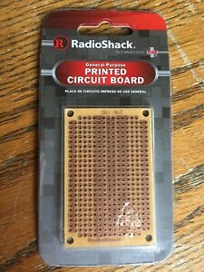 Radio Shack Printed 417 Hole Circuit Board 1 7 8 X 2 7 8 Lot Of 45