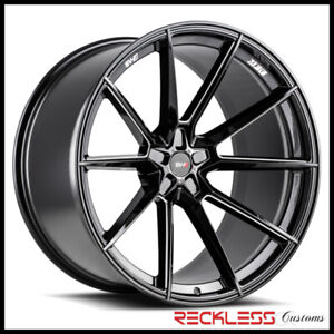 Savini 22 Svf 04 Black Concave Wheel Rims Fits G11 G12 Bmw Alpina B7