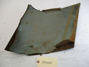 1959 1960 Chevy Wagon Interior Rear Deck Driver Side Panel Oem