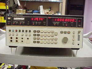 Agilent hp selective Level Meter Hp3586b With Option 1 4