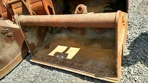 60 Tag Cp Wain Roy Wrls Quick Attach Excavator Grading Bucket Ditching