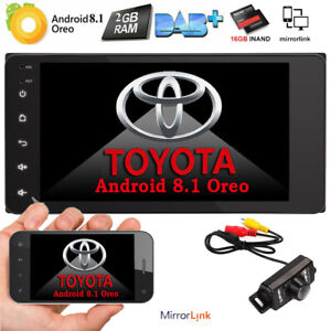 Android8 1 Car Radio Player Gps Stereo For Toyota Camry Hilux Prado Yaris No Dvd