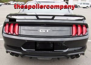 For 2015 2020 Ford Mustang Performance Rear Wing Spoiler Pre Painted Any Color