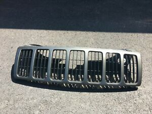 2005 2007 Jeep Grand Cherokee Painted Grill Grille Grey