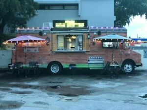 Gmc Food Truck Kitchen Truck For Sale In Florida