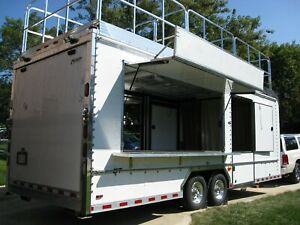 Concession Trailer Unique Moving Business Growth Office Trailer