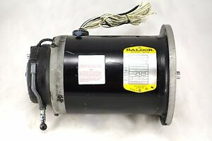 Baldor Motor 143yz Te 1 3hp 115 230v 1ph 1725 Rpm W Lenze Electric Brake