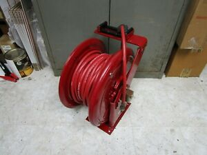 Alemite Hose Reel 7233 c1 Air oil water 3 8 id X50ft Hose 200psi Wp