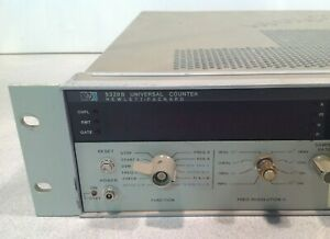 Hp 5328b Universal Counter Opt 031 Sold As Is