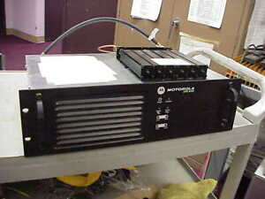 Motorola Xpr8400 Uhf 403 470mhz 48w Trbo Repeater with Duplexer 6 Cavity