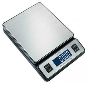 Weighmax W 2809 90 Lb X 0 1 Oz Durable Stainless Steel Digital Postal Scale New