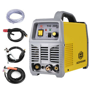 Portable Tig Welder 220v 200amp Stick Mma Welder Inverter Tig Welding Machine