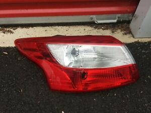 2012 2014 Ford Focus Sedan Driver Side Left Taillight Tail Light